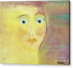 Golden Girl Acrylic Print