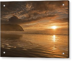 Acrylic Print featuring the photograph Golden Hour by John Gilbert