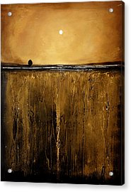 Golden Inspirations Acrylic Print by Toni Grote