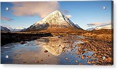 Golden Light In Glencoe Acrylic Print