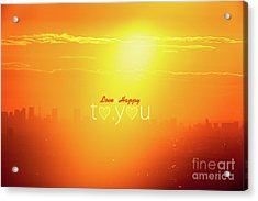 To You #002 Acrylic Print