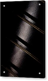 Acrylic Print featuring the photograph Golden Line by Paul Job