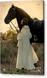 Golden Moments Acrylic Print