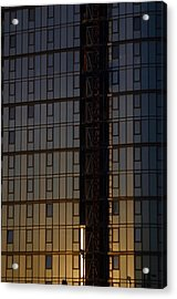Golden Office Acrylic Print by Jez C Self