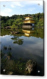 Golden Pavilion In Kyoto Acrylic Print by Jessica Rose