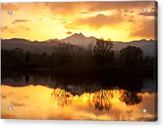 Golden Ponds Longmont Colorado Acrylic Print