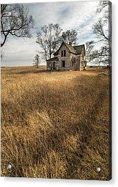 Acrylic Print featuring the photograph Golden Prairie  by Aaron J Groen