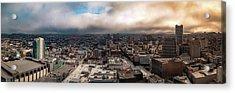 Golden San Francisco Acrylic Print