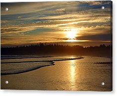 Long Beach, British Columbia Acrylic Print