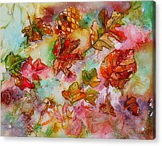 Golden Season Acrylic Print