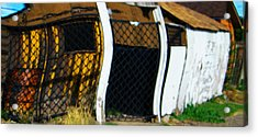 Golden Shed Acrylic Print