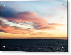 Golden Sunrise II Acrylic Print by Bill Perry