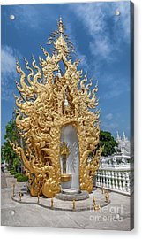 Golden Temple Acrylic Print by Adrian Evans