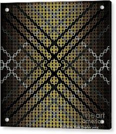 Golden Tri Acrylic Print