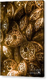 Golden Ufos From Egyptology  Acrylic Print by Jorgo Photography - Wall Art Gallery