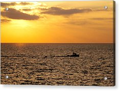Acrylic Print featuring the photograph Golden Voyage by Christopher Woods