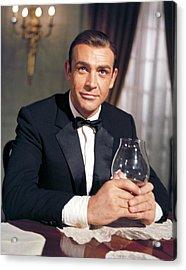 Goldfinger, Sean Connery, 1964 Acrylic Print