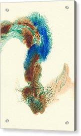 Goldfish - #ss14dw025 Acrylic Print by Satomi Sugimoto
