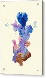 Goldfish- #ss14dw031 Acrylic Print by Satomi Sugimoto