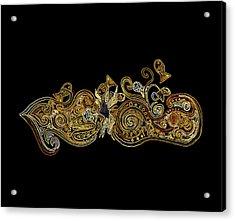 Goldfish Acrylic Print by Zetwal Studio