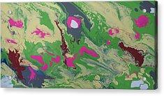 Goldilocks Zone Terrain Acrylic Print by Adam Asar