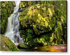 Goldmine Brook Falls Chester Ma Acrylic Print