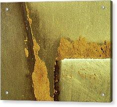Goldrush Acrylic Print