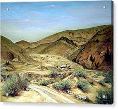 Goler Gultch California Acrylic Print by Evelyne Boynton Grierson