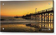Goleta Sunset Acrylic Print
