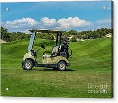 Golf Cart Acrylic Print
