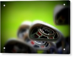 Golf Clubs 2 Acrylic Print