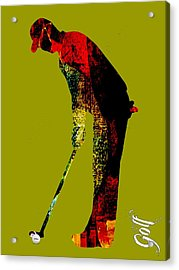 Golf Collection Acrylic Print