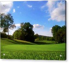 Golf Course Landscape Acrylic Print