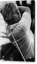 Golf Pro Jack Nicklaus, 1973 Acrylic Print by Everett