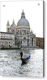 Gondola Alla Salute Acrylic Print