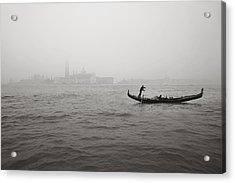 Gondola Nella Nebbia 193042x Acrylic Print