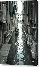 Gondola On Venice Canal Acrylic Print