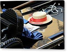 Gondolier's Hat Acrylic Print