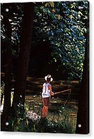 Gone Fishin' Acrylic Print