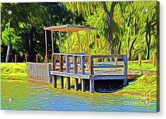 Gone Fishing 18-11 Acrylic Print