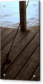 Acrylic Print featuring the photograph Gone Fishing by Karen Musick
