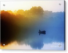 Acrylic Print featuring the photograph Gone Fishing by Scott Kemper