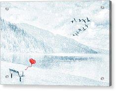 Gone Acrylic Print by Iryna Goodall