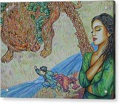 Gone Acrylic Print by Joseph Lawrence Vasile