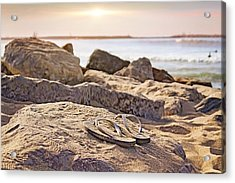 Gone Surfin' Acrylic Print