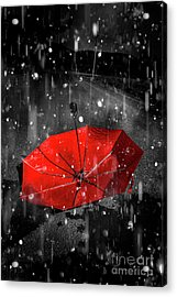 Gone With The Rain Acrylic Print