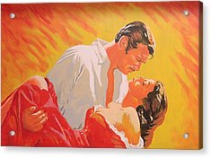 Gone With The Wind Acrylic Print by Bob Gregory