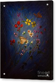 Gone With The Wind Acrylic Print by Zina Stromberg