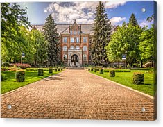 Gonzaga University II Acrylic Print by Spencer McDonald