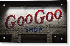 Goo Goo Acrylic Print by Stephen Stookey
